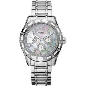 Guess stainless steel and quartz watch